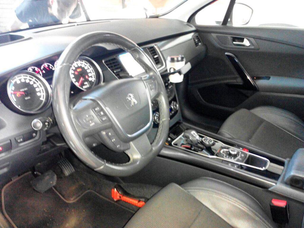 Отключение клапана ЕГР на Peugeot 508 2.0 HDI 2010