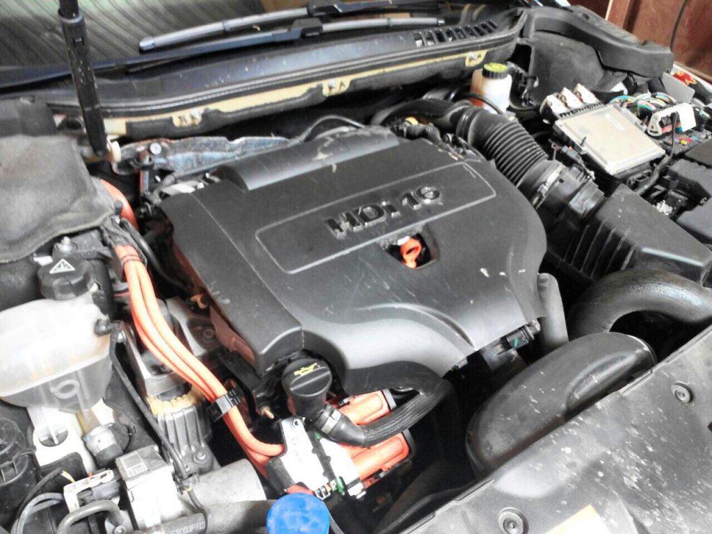 Заглушить клапан ЕГР и отключить на Peugeot 508 2.0 HDI 2010