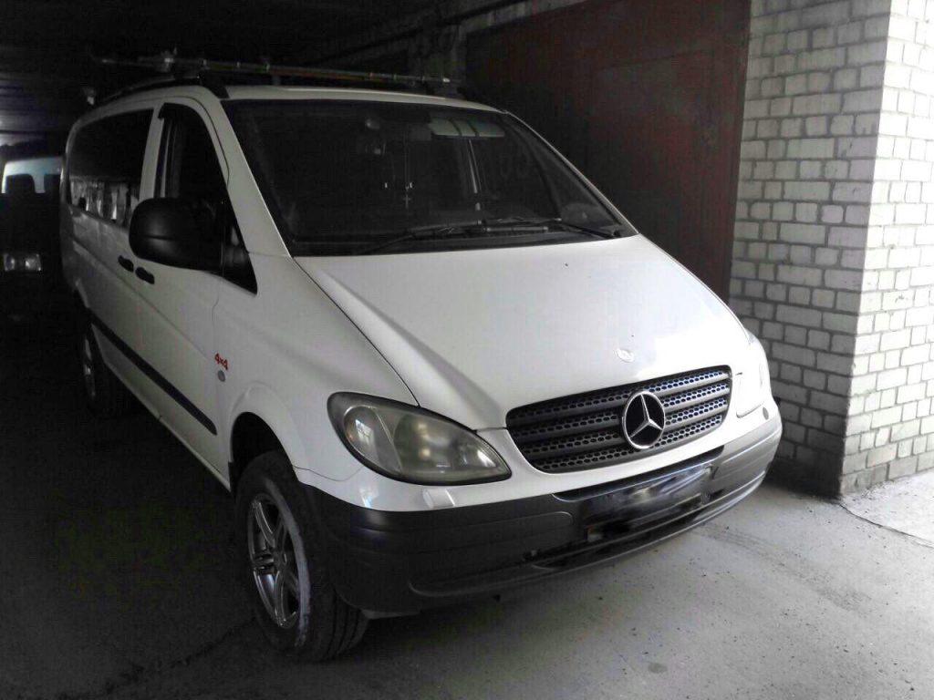 Отключить ЕГР и заглушить, удалить и отключить сажевый фильтр в Киеве на Mercedes Vito 111 CDI 2005