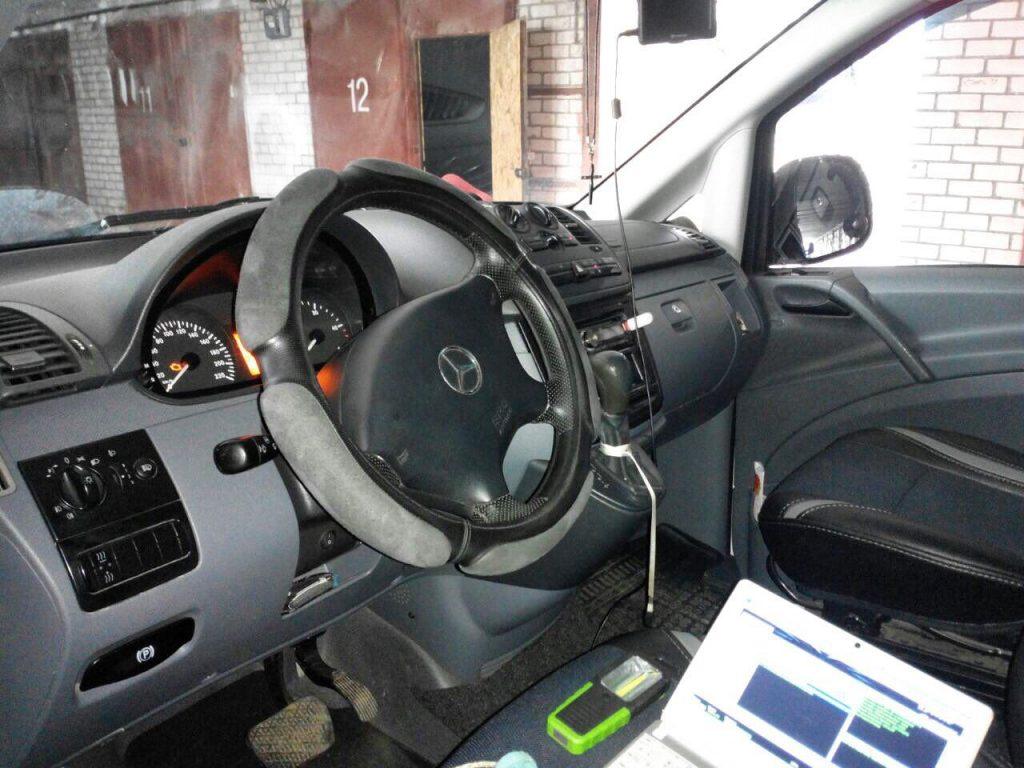 Отключение сажевого фильтра и ЕГР в Киеве Mercedes Vito 111 CDI 2005