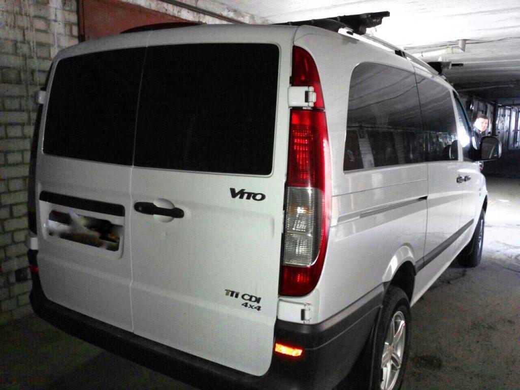 Удалить сажевый фильтр в Киеве на Mercedes Vito 111 CDI 2005