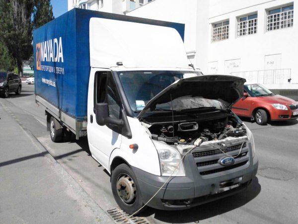 Удаление сажевого фильтра и отключение сажевого фильтра в Киеве Ford Transit 2.4 TDCI 2007