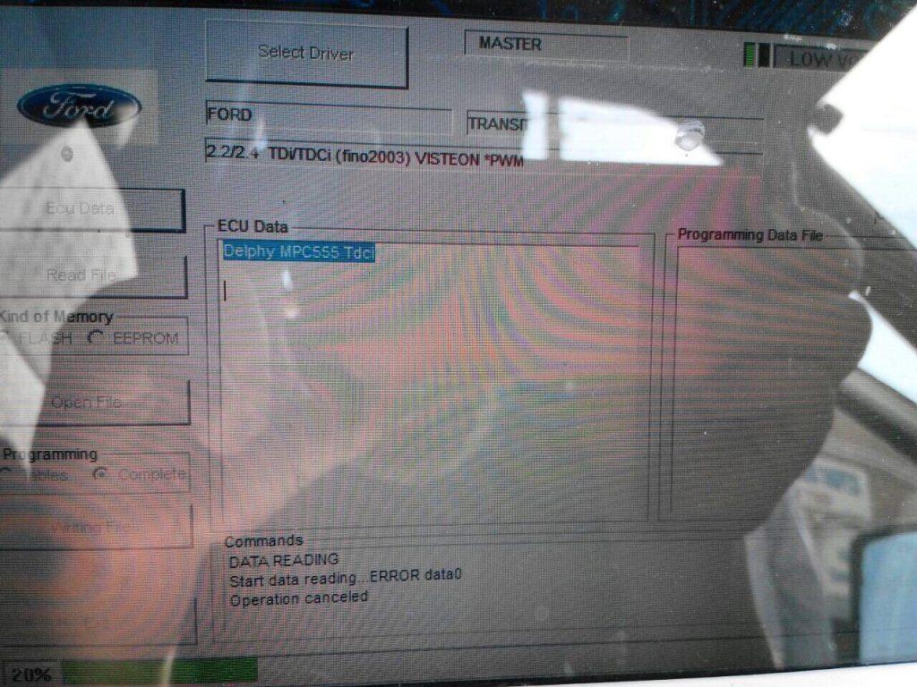 Ford Transit 2.4 TDCI 2007 заглушить клапан ЕГР и отключить
