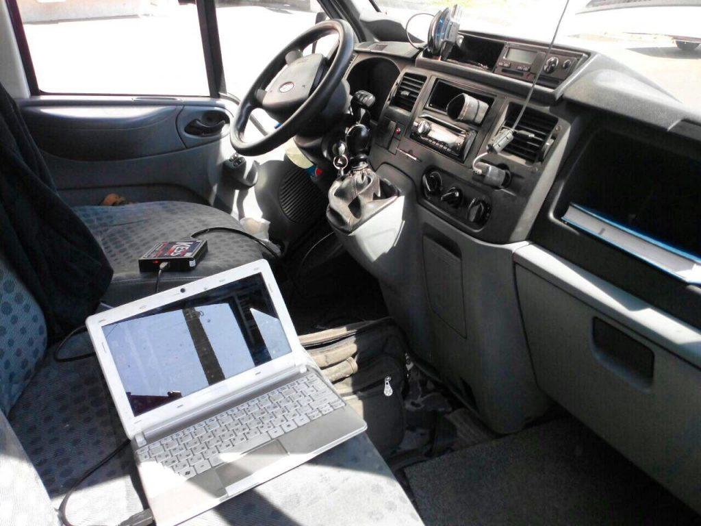 Отключение сажевого фильтра и клапана ЕГР в Киеве на Ford Transit 2.4 TDCI 2007