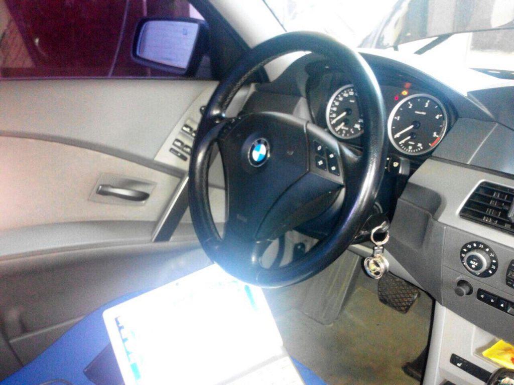 Отключение сажевого фильтра и клапана ЕГР в Киеве на BMW 5 e60 3.0 D 2005