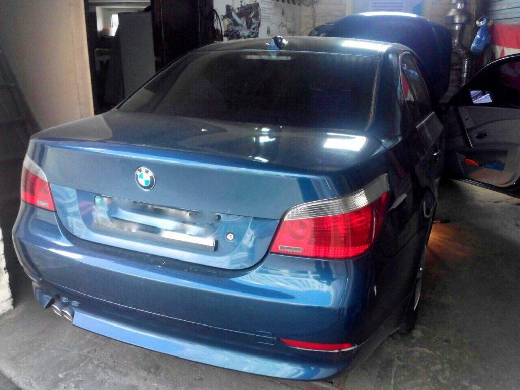 Удалить сажевый фильтр и отключить на BMW 5 e60 3.0 D 2005