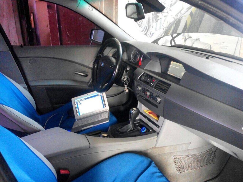 Отключить клапан ЕГР и сажевый фильтр BMW 5 e60 3.0 D 2005