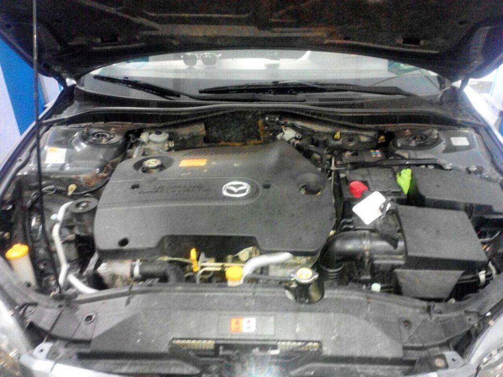 Заглушить клапан ЕГР на Mazda 6 2.0 MZR-CD
