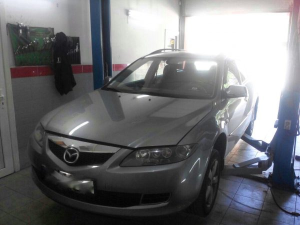 Заглушка клапана ЕГР и отключение, удаление сажевого фильтра в Киеве на Mazda 6 2.0 MZR-CD