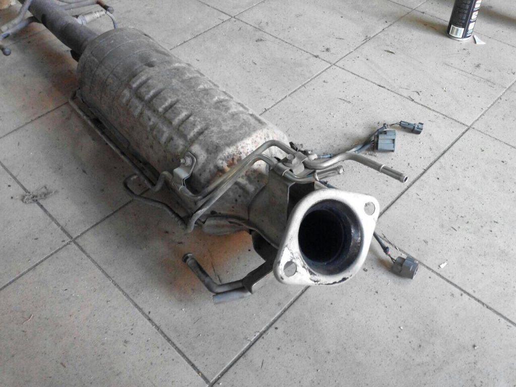 Удаление сажевого фильтра Mazda 6 2.0 MZR-CD