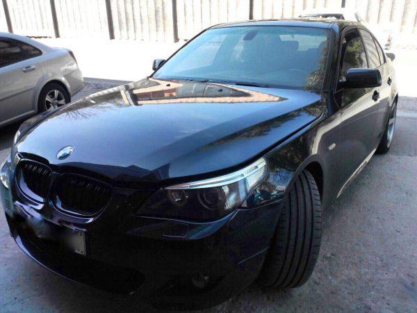 Удаление и отключение сажевого фильтра в Киеве BMW 530d E60 3.0 D