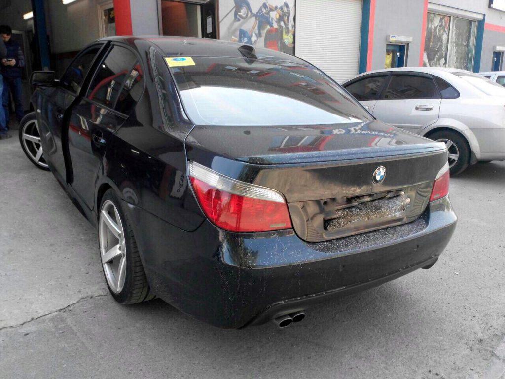 Отключить и удалить сажевый в Киеве BMW 530d E60 3.0 D