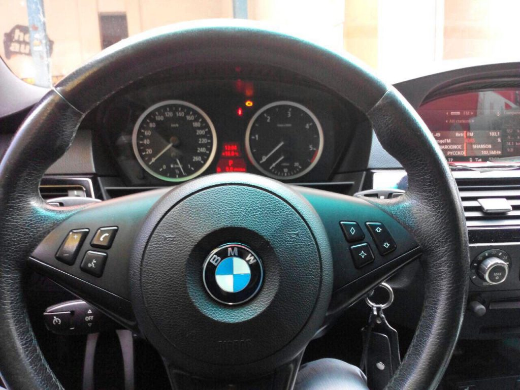 Сажевый фильтр, удаление и отключение BMW 530d E60 3.0 D