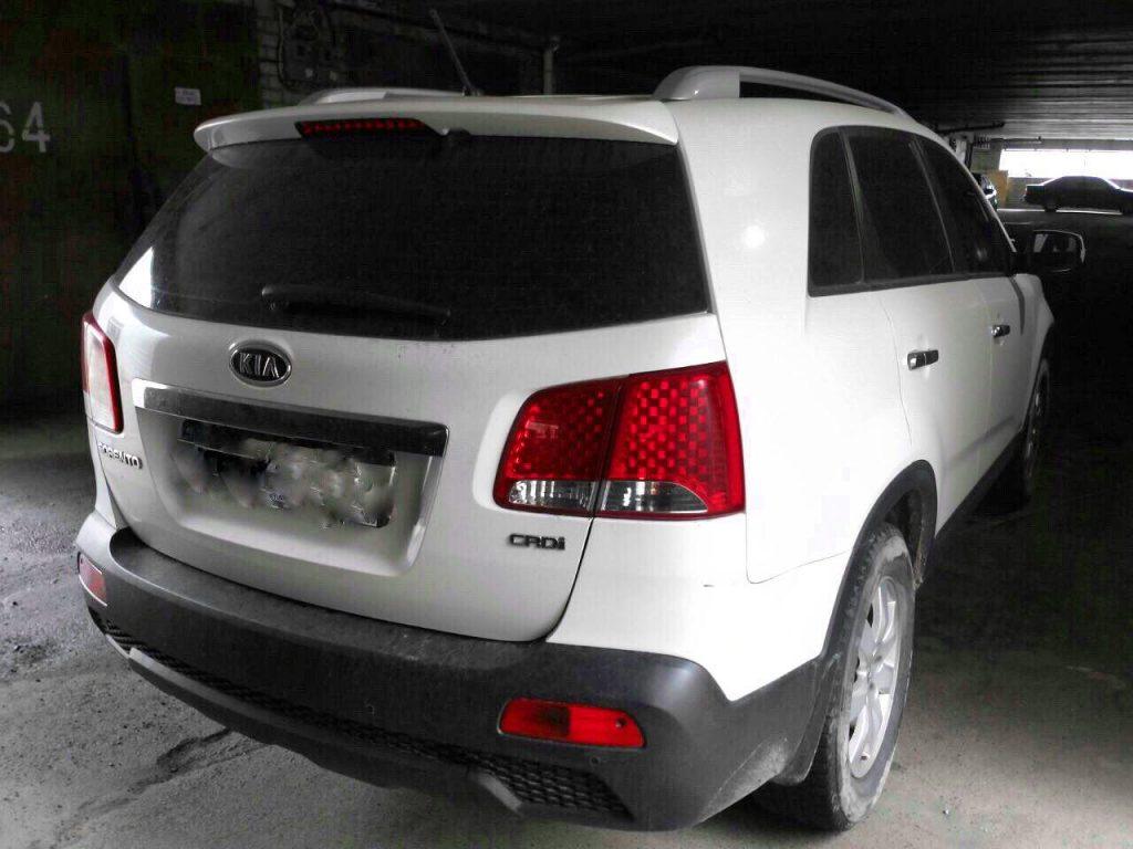 Заглушить ЕГР и отключить Kia Sorento 2.2 CRDI 2011