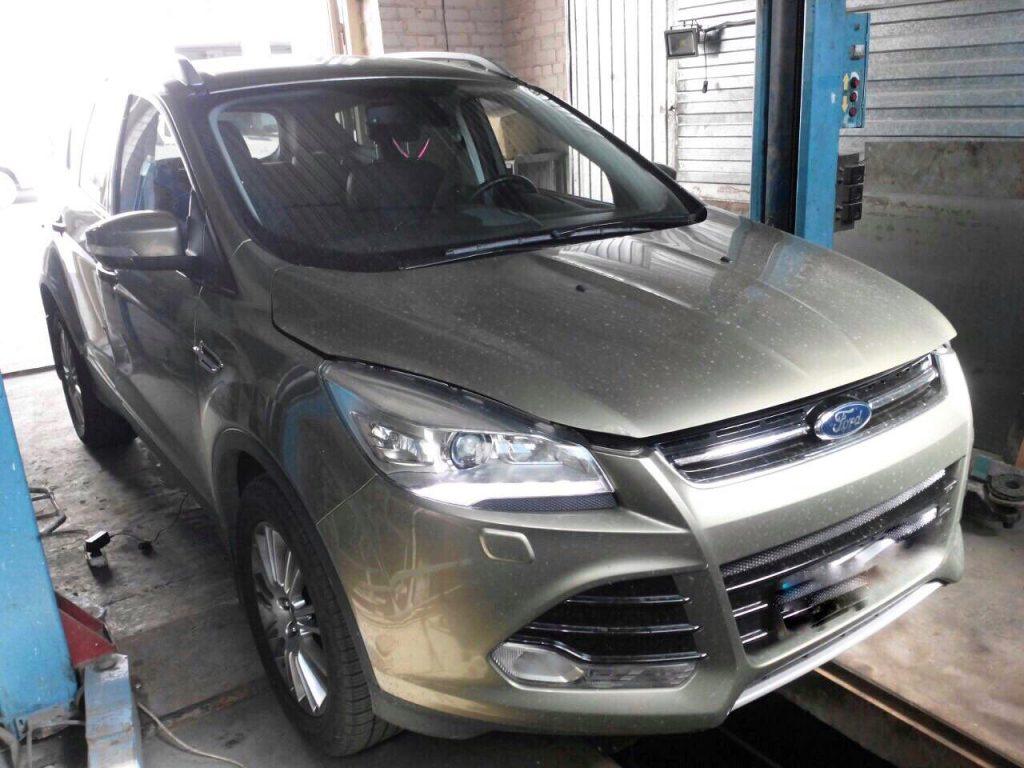 Удалить сажевый фильтр и отключить на Ford Kuga 2.0 TDCI 2012