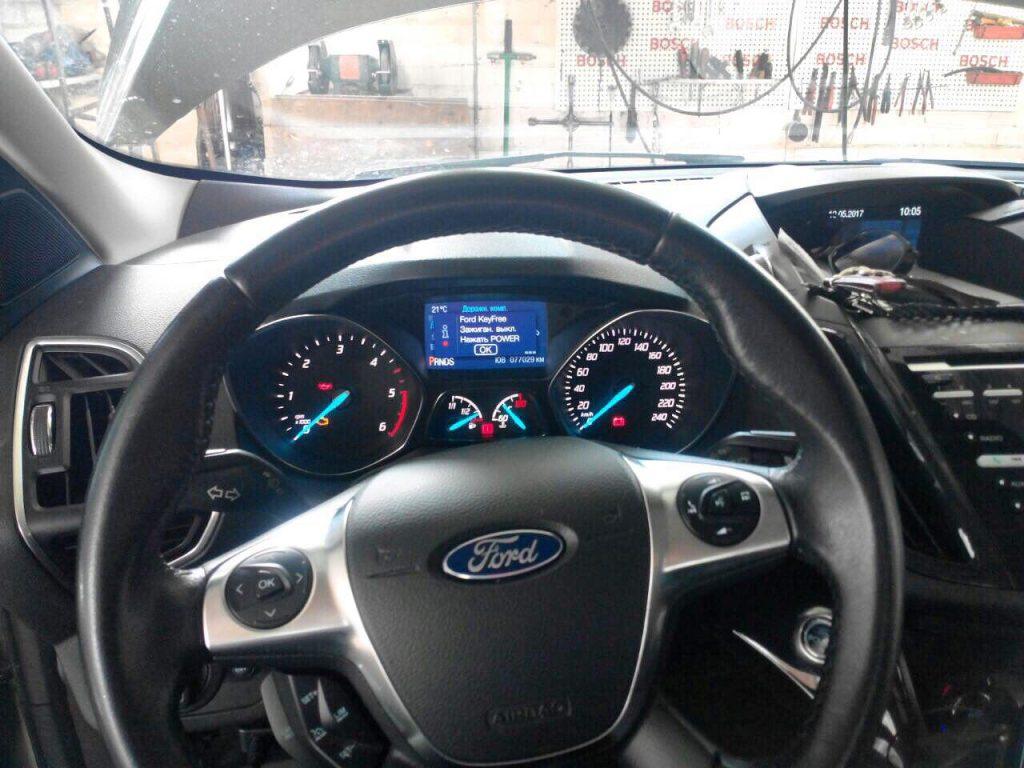 Отключить клапан ЕГР и заглушить Ford Kuga 2.0 TDCI 2012