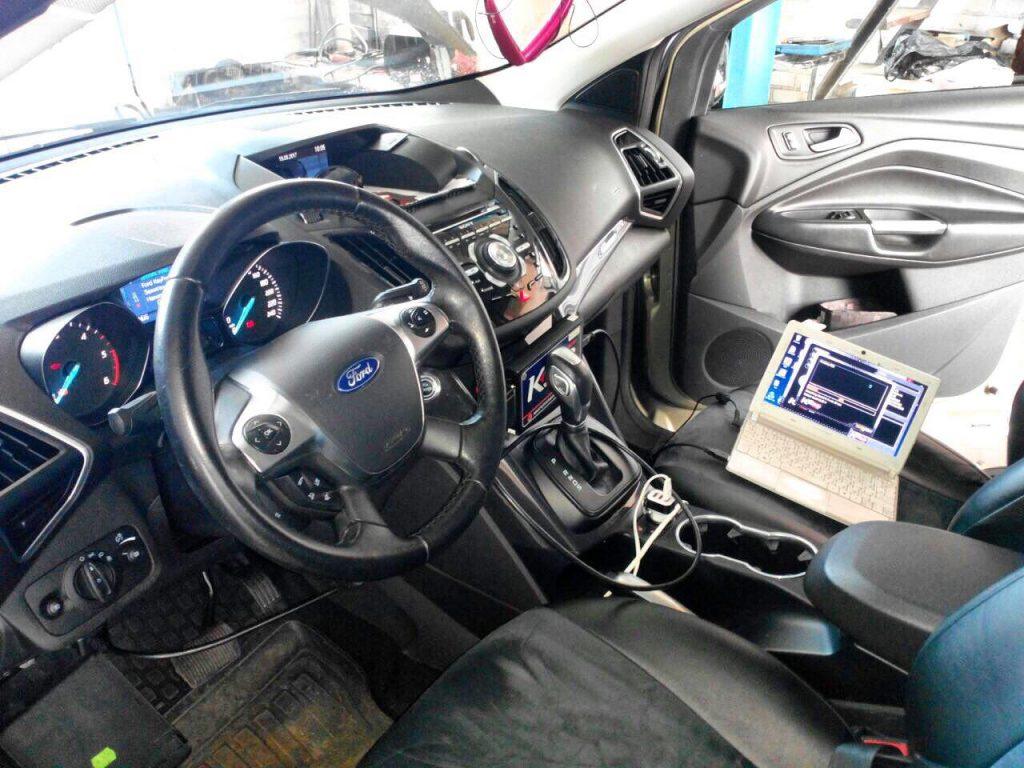 Отключение сажевого фильтра и клапана ЕГР Ford Kuga 2.0 TDCI 2012