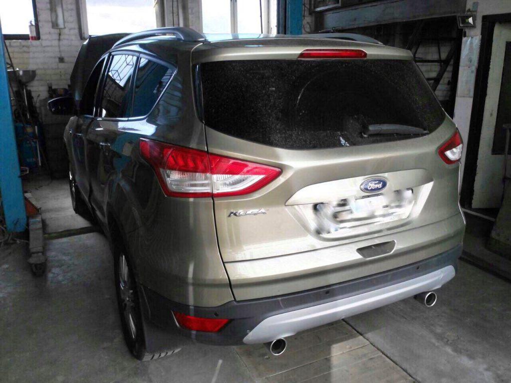 Ford Kuga 2.0 TDCI 2012 удаление сажевого фильтра в Киеве
