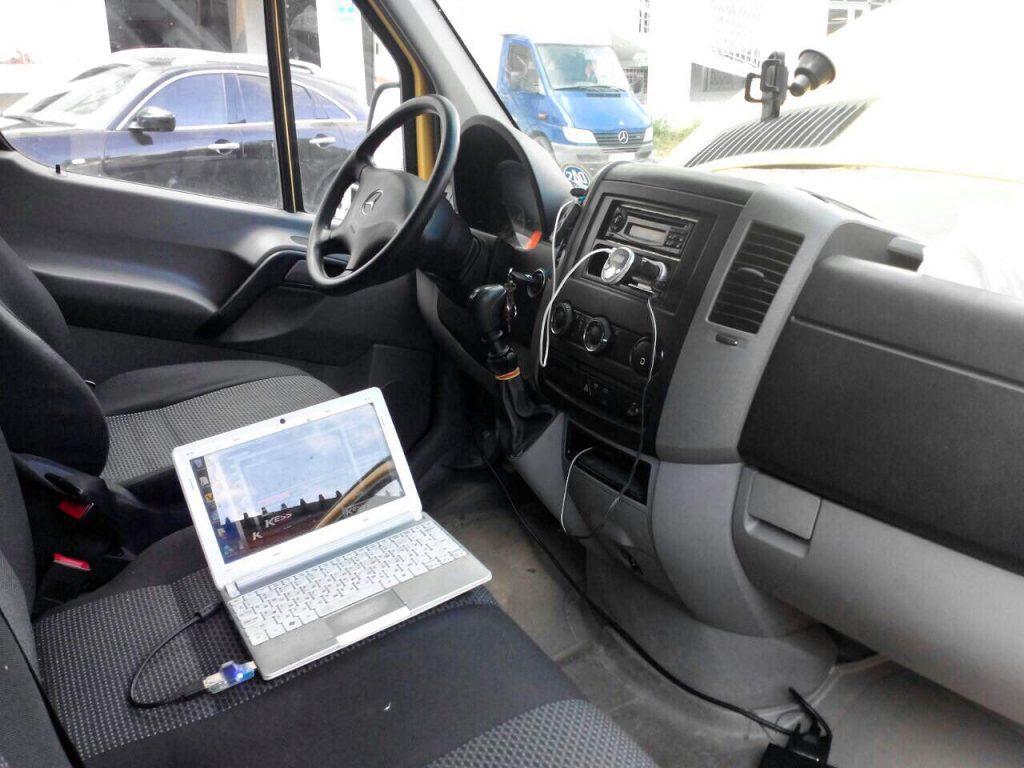 Отключение клапана ЕГР и сажевого фильтра Mercedes Sprinter 316 2.2 CDI 2012