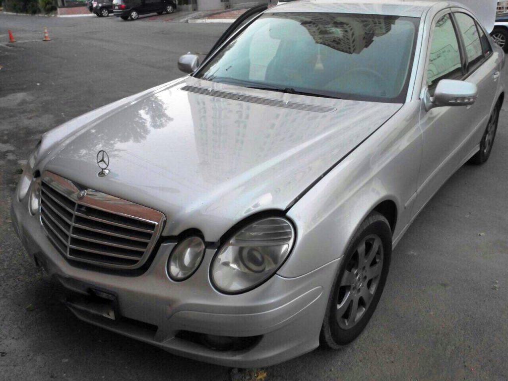 Удалить сажевый фильтр на Mercedes E320 CDI 2007