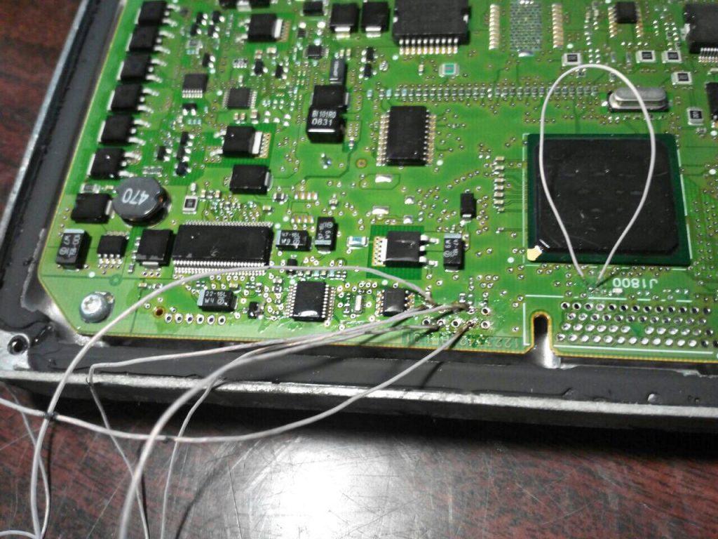 Отключение клапана ЕГР на Mercedes E320 CDI 2007