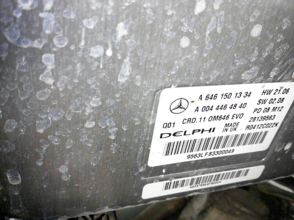 Удалить сажевый и отключить ЕГР Mercedes E320 CDI 2007