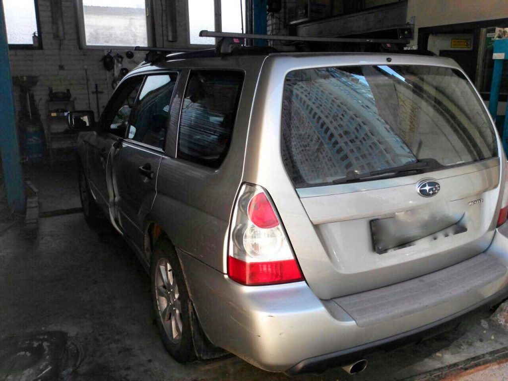Удалить и отключить катализаторы Subaru Forester 2.0 2006