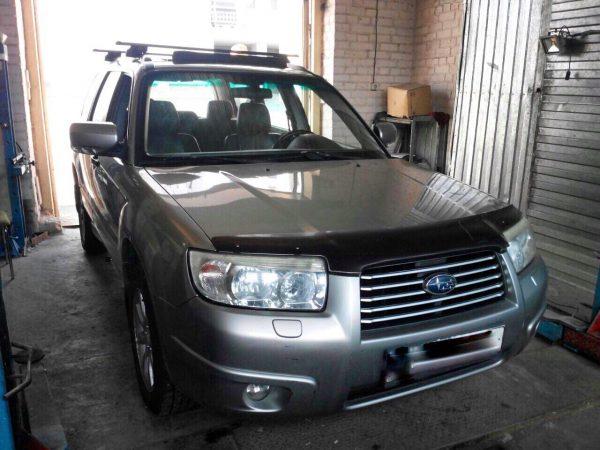 Отключение системы подачи вторичного воздуха SAI и удаление катализаторов Subaru Forester 2.0 2006