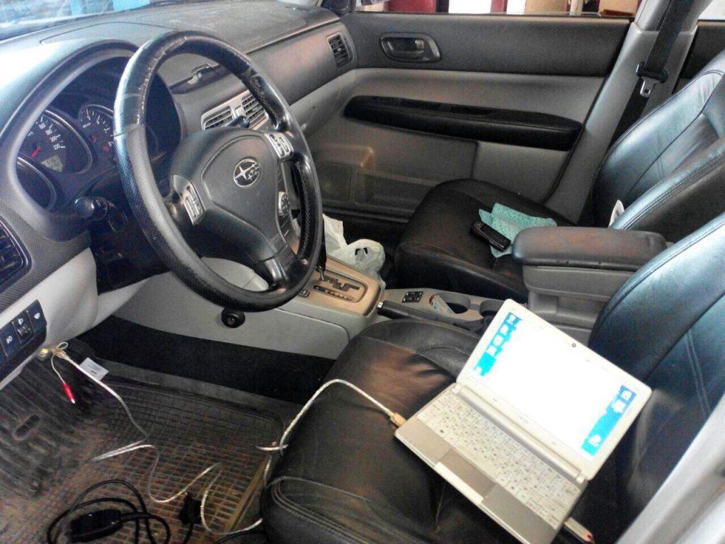 Отключение системы подачи вторичного воздуха Subaru Forester 2.0 2006