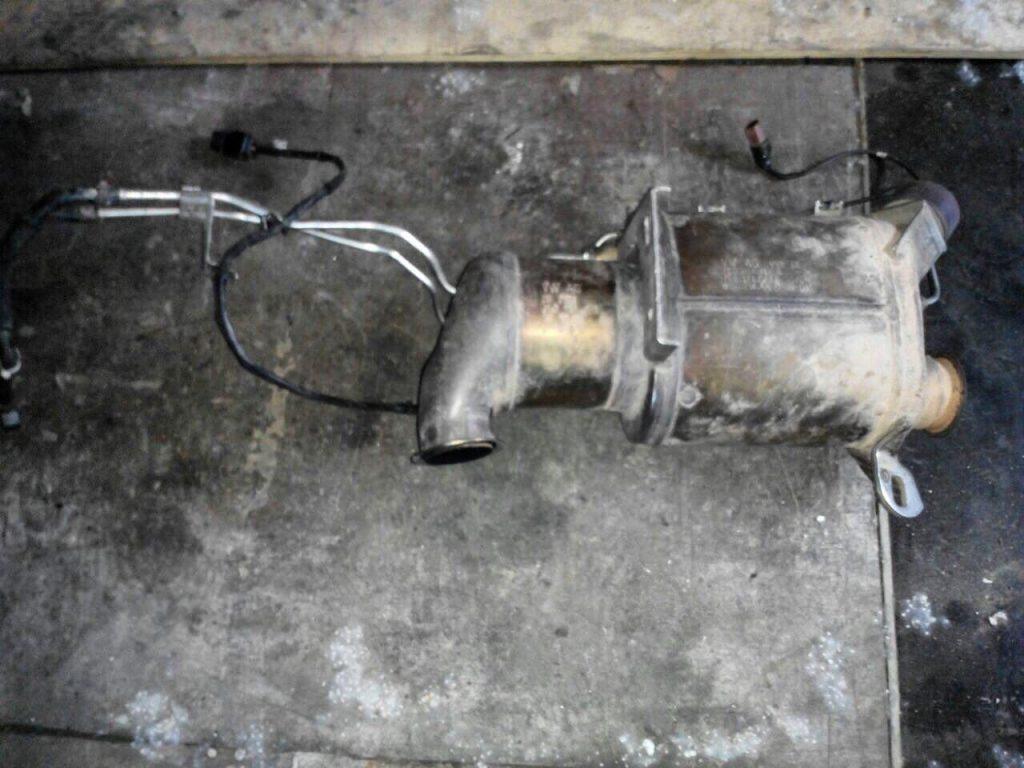 Удалить сажевый фильтр Volkswagen T5 2.0 TDI 2010