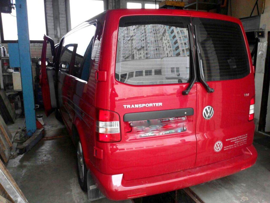 Удаление сажевого фильтра Volkswagen T5 2.0 TDI 2010