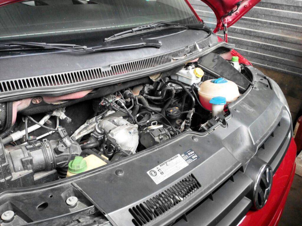Заглушить и отключить клапан ЕГР в Киеве на Volkswagen T5 2.0 TDI 2010