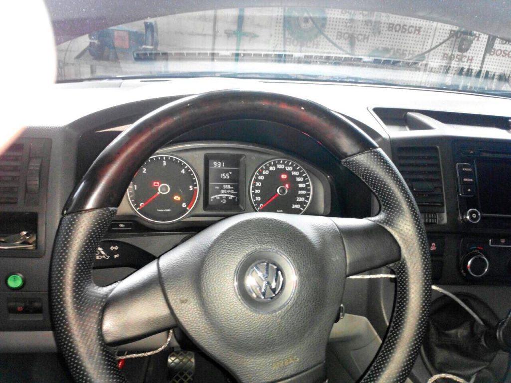 Отключение сажевого фильтра и клапана ЕГР на Volkswagen T5 2.0 TDI 2010
