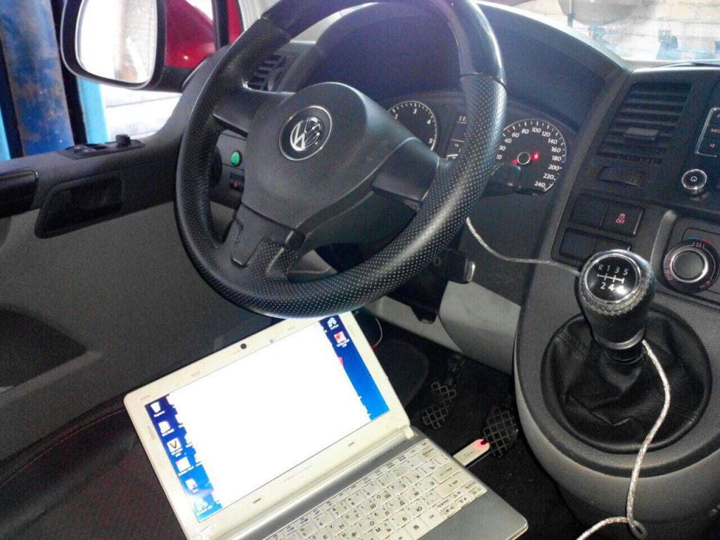 Отключение ЕГР и сажевого фильтра Volkswagen T5 2.0 TDI 2010