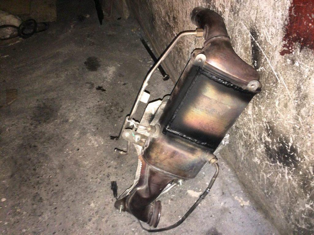 Удалить сажевый фильтр Fiat Doblo 1.3 TDi 2016