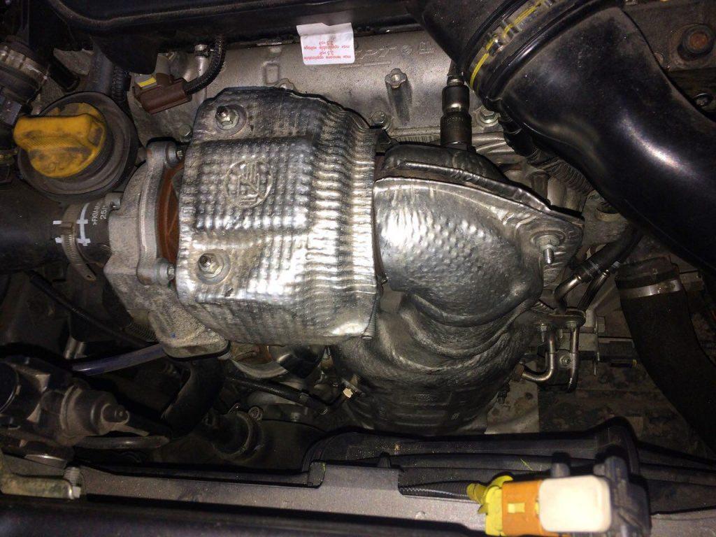 Удалить сажевый фильтр и отключить Fiat Doblo 1.3 TDi 2016