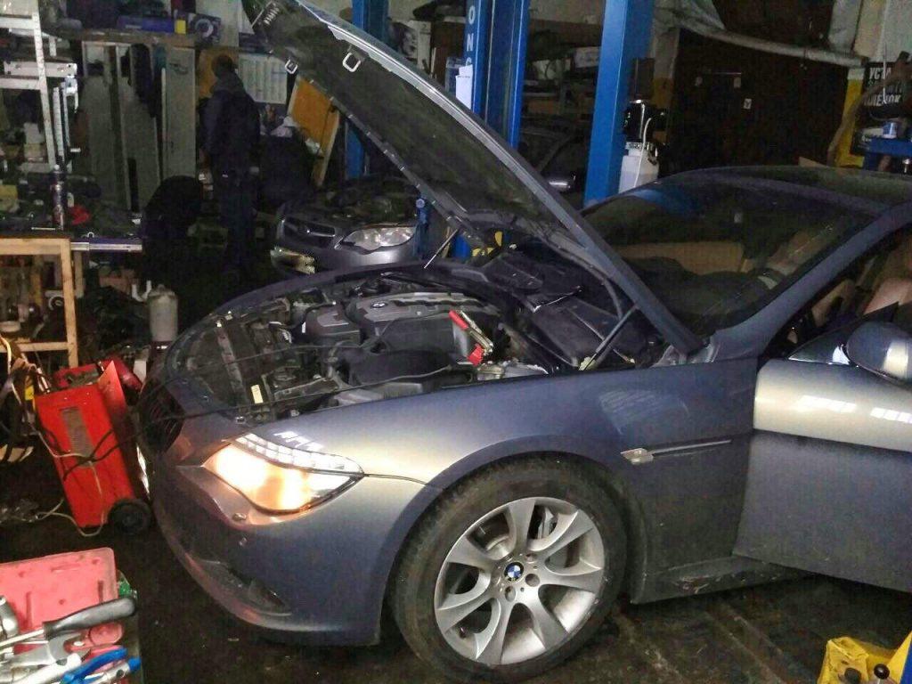 Отключить и удалить катализаторы BMW 650 i 2008