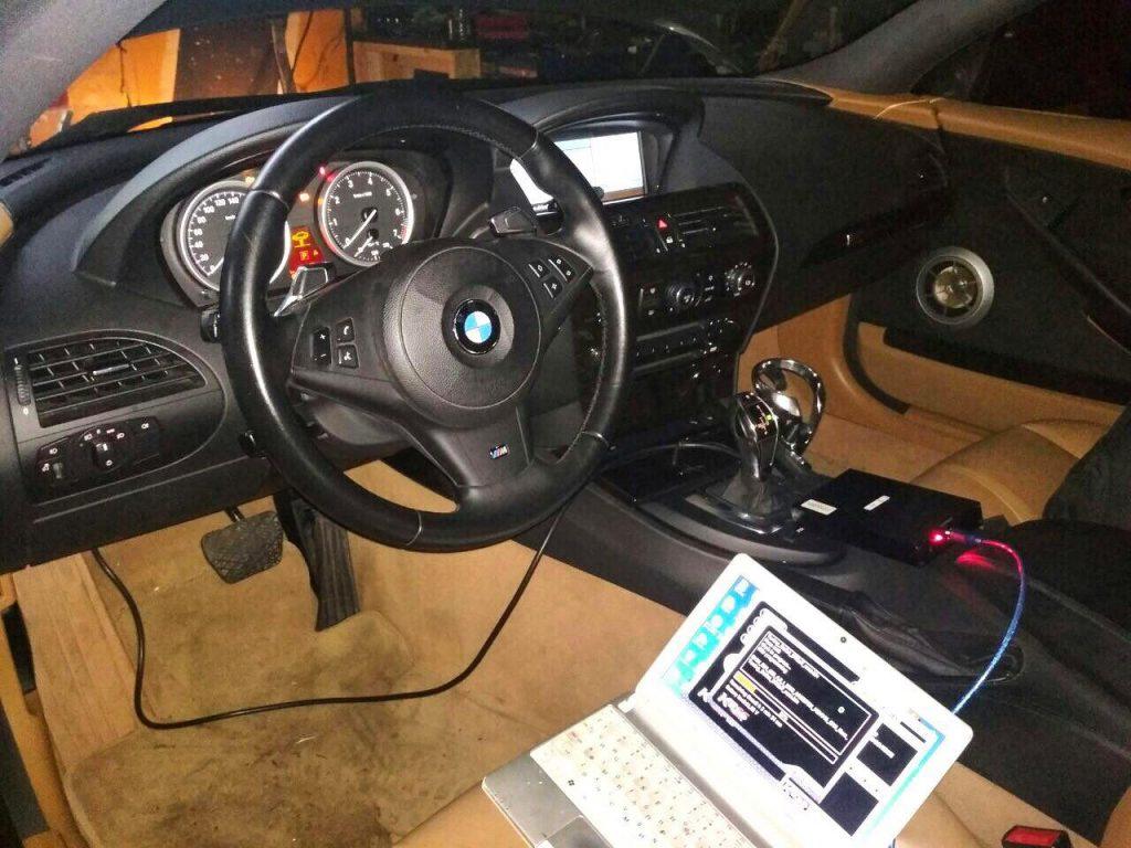 Отключение катализаторов и чип-тюнинг на BMW 650 i 2008