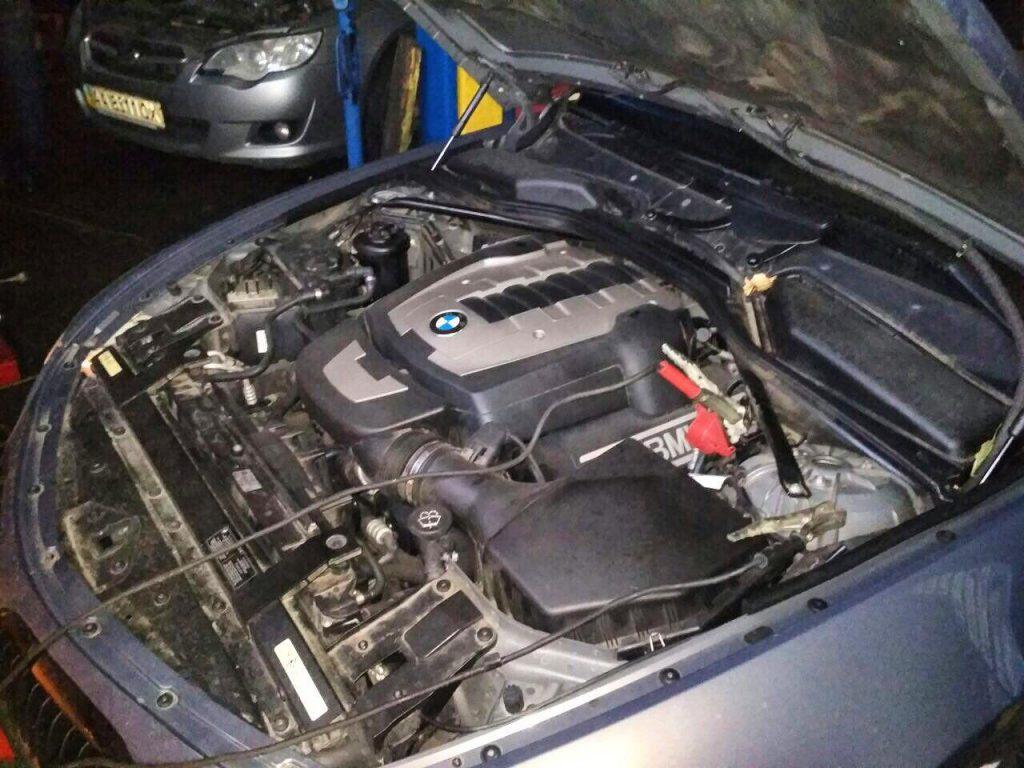 Удаление катализаторов BMW 650 i 2008