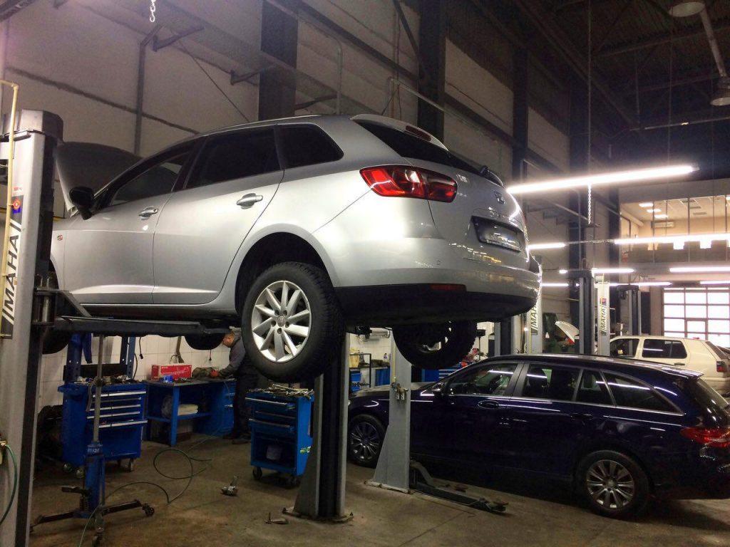 Удаление сажевого фильтра Seat Ibiza 1.2 TDi 2012