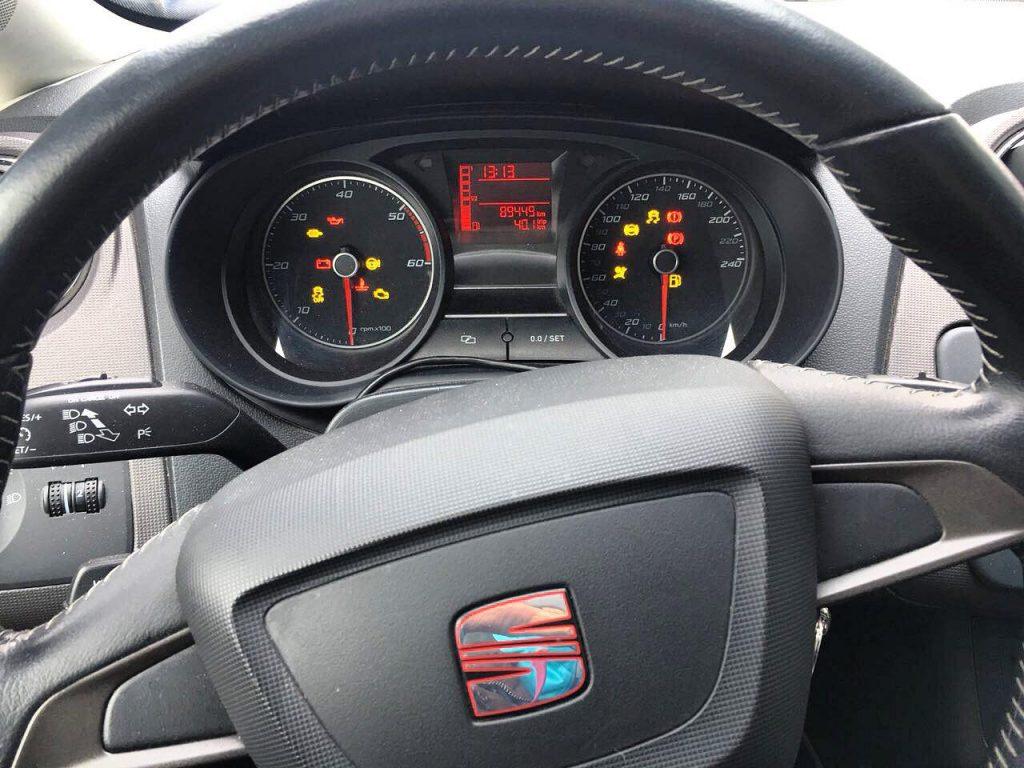 Заглушить клапан ЕГР и удалить сажевый фильтр Seat Ibiza 1.2 TDi 2012