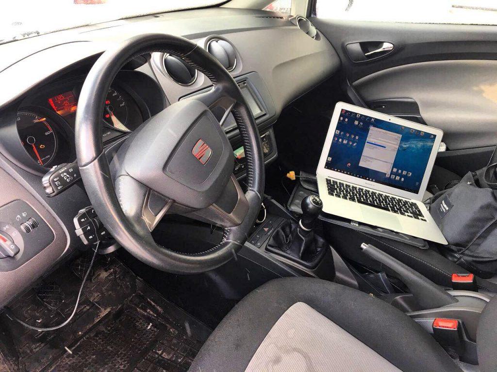 Отключение клапана ЕГР и сажевого фильтра Seat Ibiza 1.2 TDi 2012