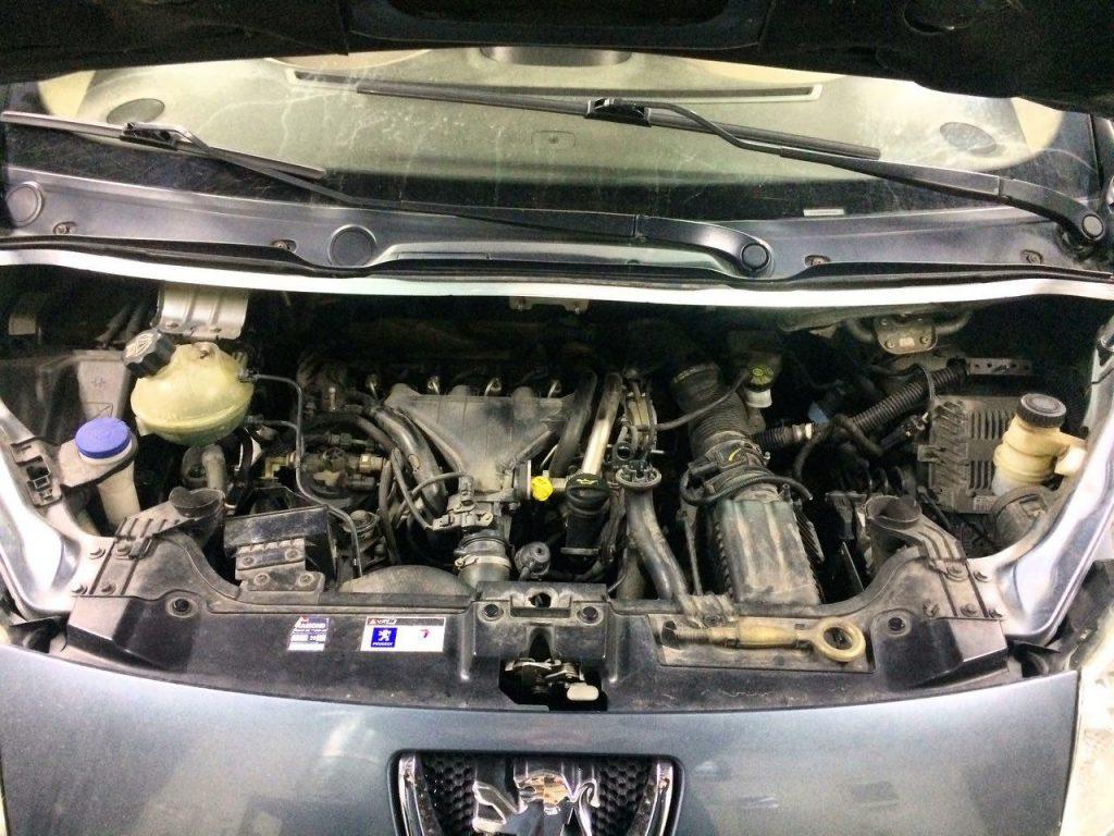 Peugeot Expert 2.0 HDi 2007 заглушить клапан ЕГР