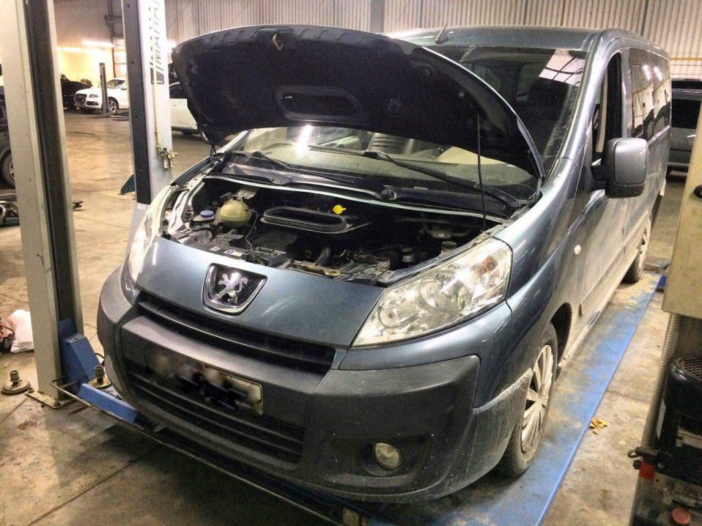 Заглушить клапан ЕГР и отключить Peugeot Expert 2.0 HDi 2007