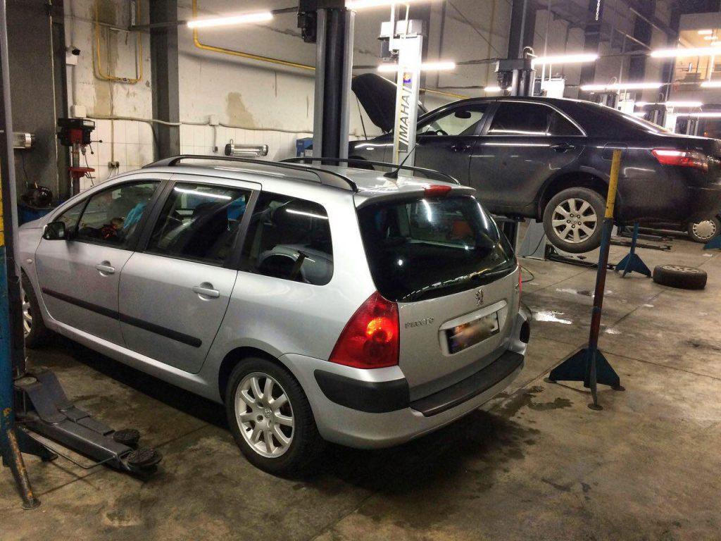 Peugeot 307 2.0 HDi 2003 удалить и отключить фильтр сажевый
