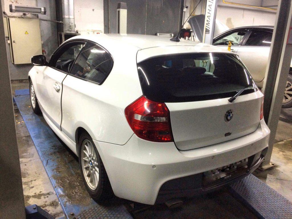 Заглушить клапан ЕГР и отключить, удалить сажевый фильтр и отключить на BMW 118d 2010
