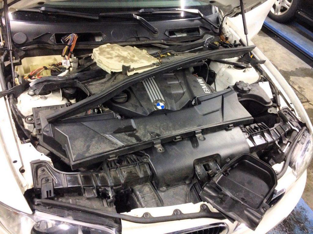 Отключить сажевый фильтр BMW 118d 2010