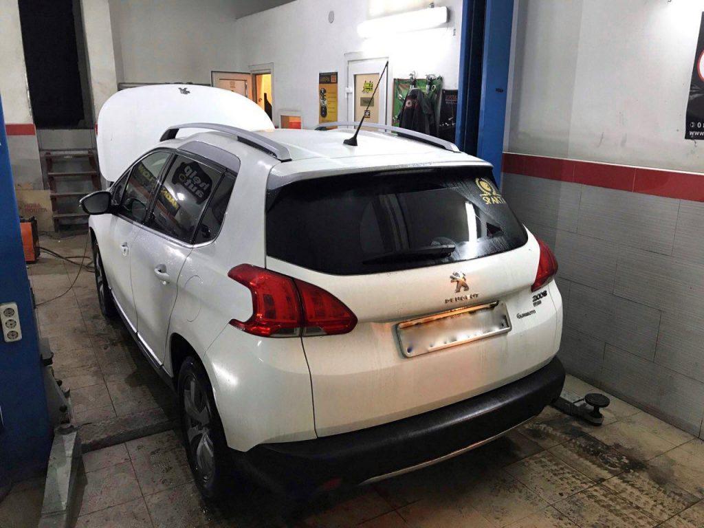 Peugeot 2008 1.6 HDI 2013 удалить и отключить сажевый фильтр