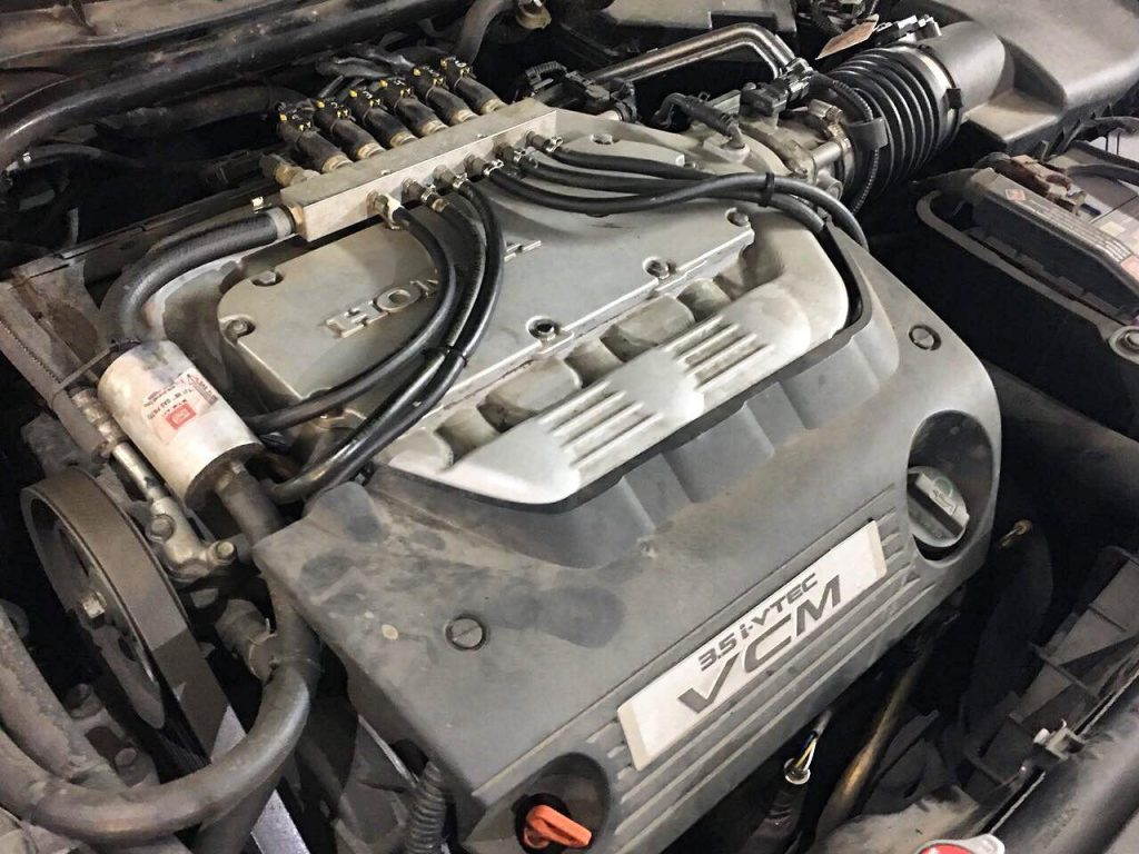Honda Accord 3.5 2008 удалить катализаторы