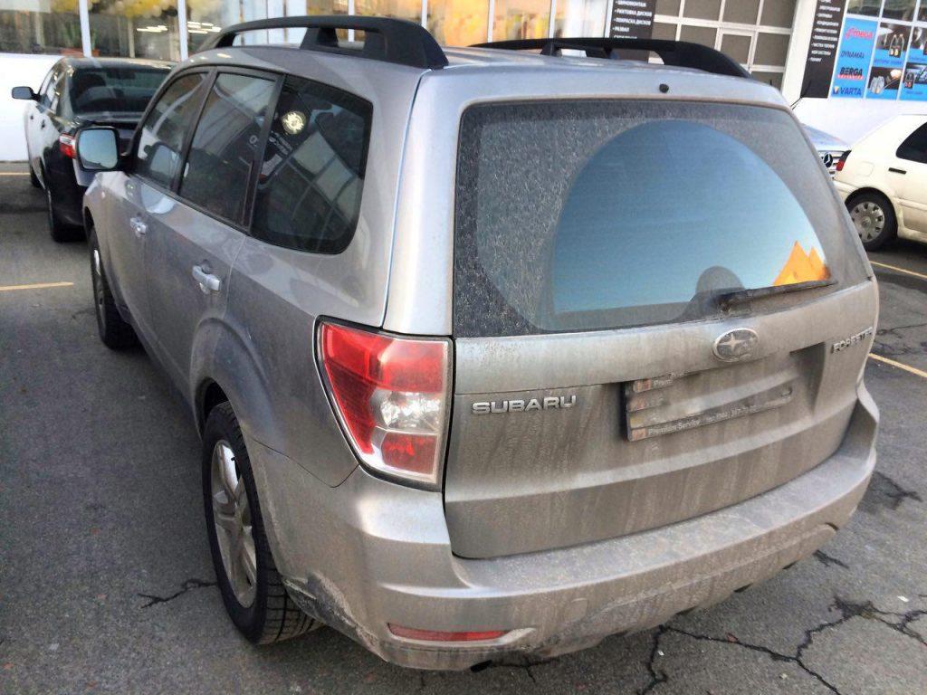 Отключить клапан ЕГР на Subaru Forester 2.5 2009